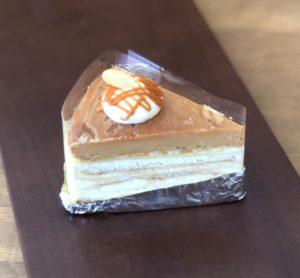 キャラメル焼きチーズケーキ